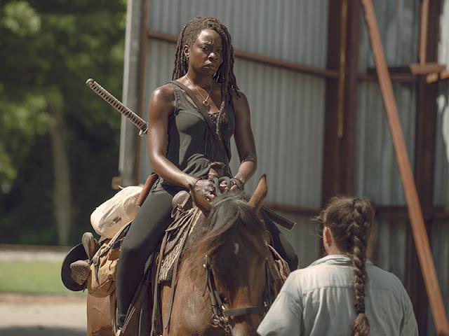 Michonne (Danai Gurira) nell'episodio 6