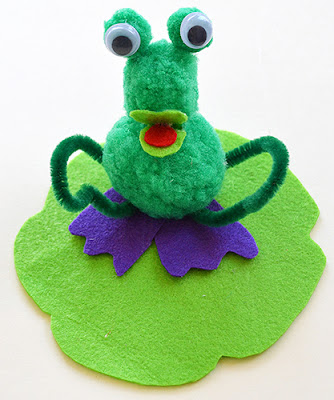 Itsy Bitsy - The Blog place: Surprised Frog!