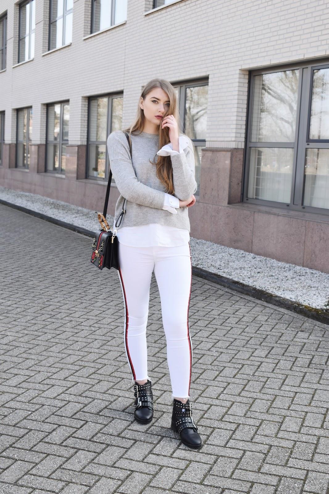 spodnie z wysokim stanem zara
