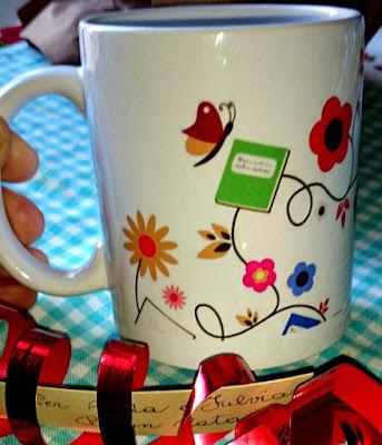 tazza con logo