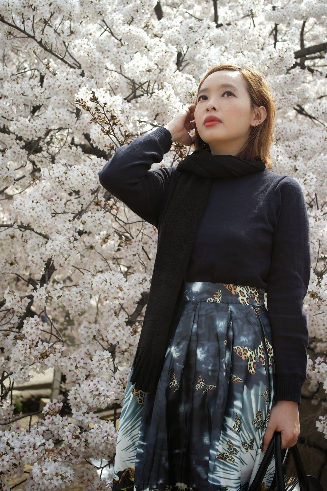 what to wear in early spring japan
