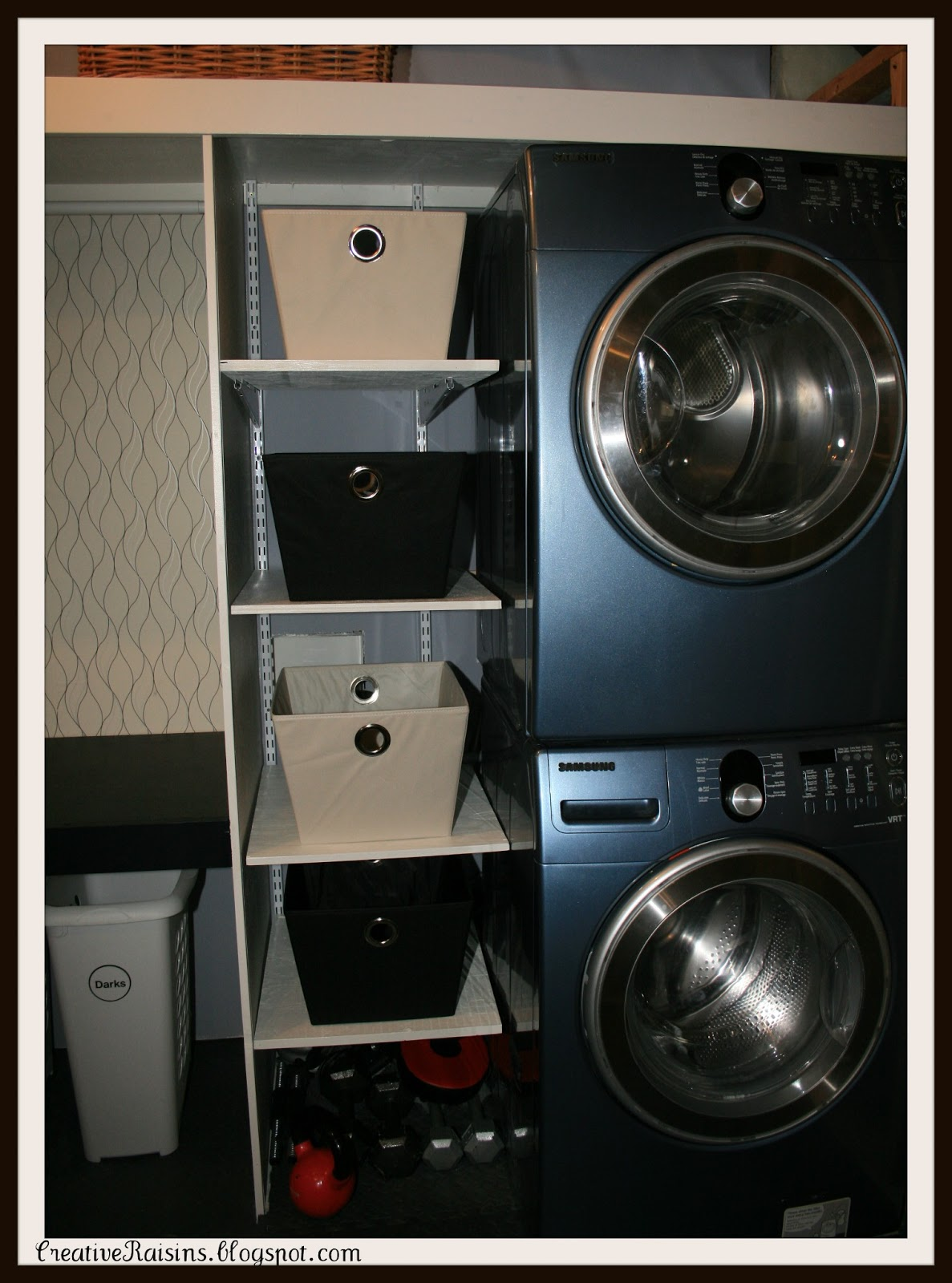 Creative Raisins: Laundry Room Makeover