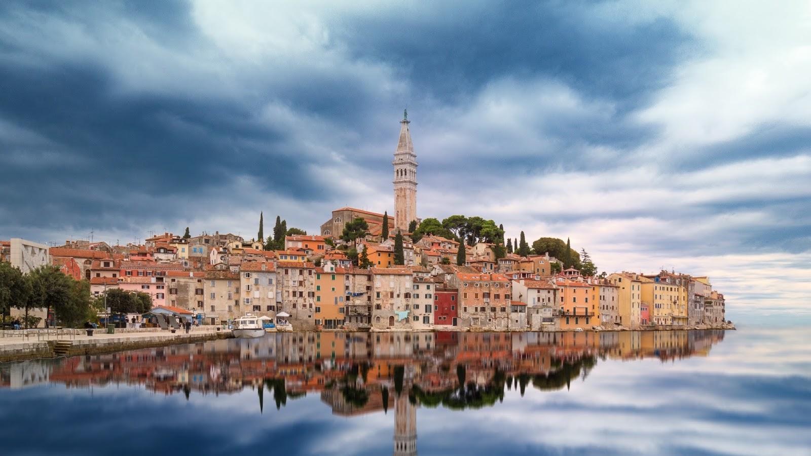 Old Town Rovinj Croati...