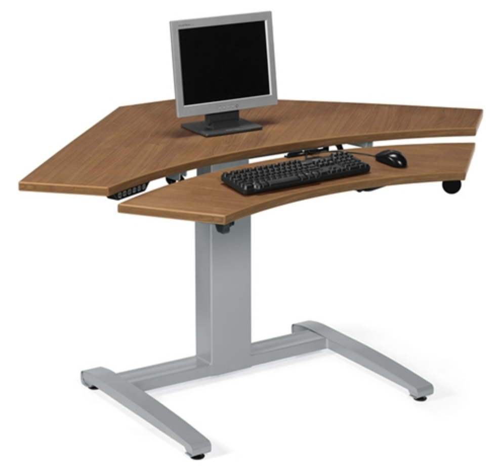 Height Adjustable Sit To Stand Desk by Global