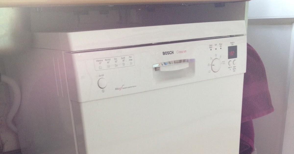 Andrews Blog Bosch Classixx Dishwasher Check Water Error
