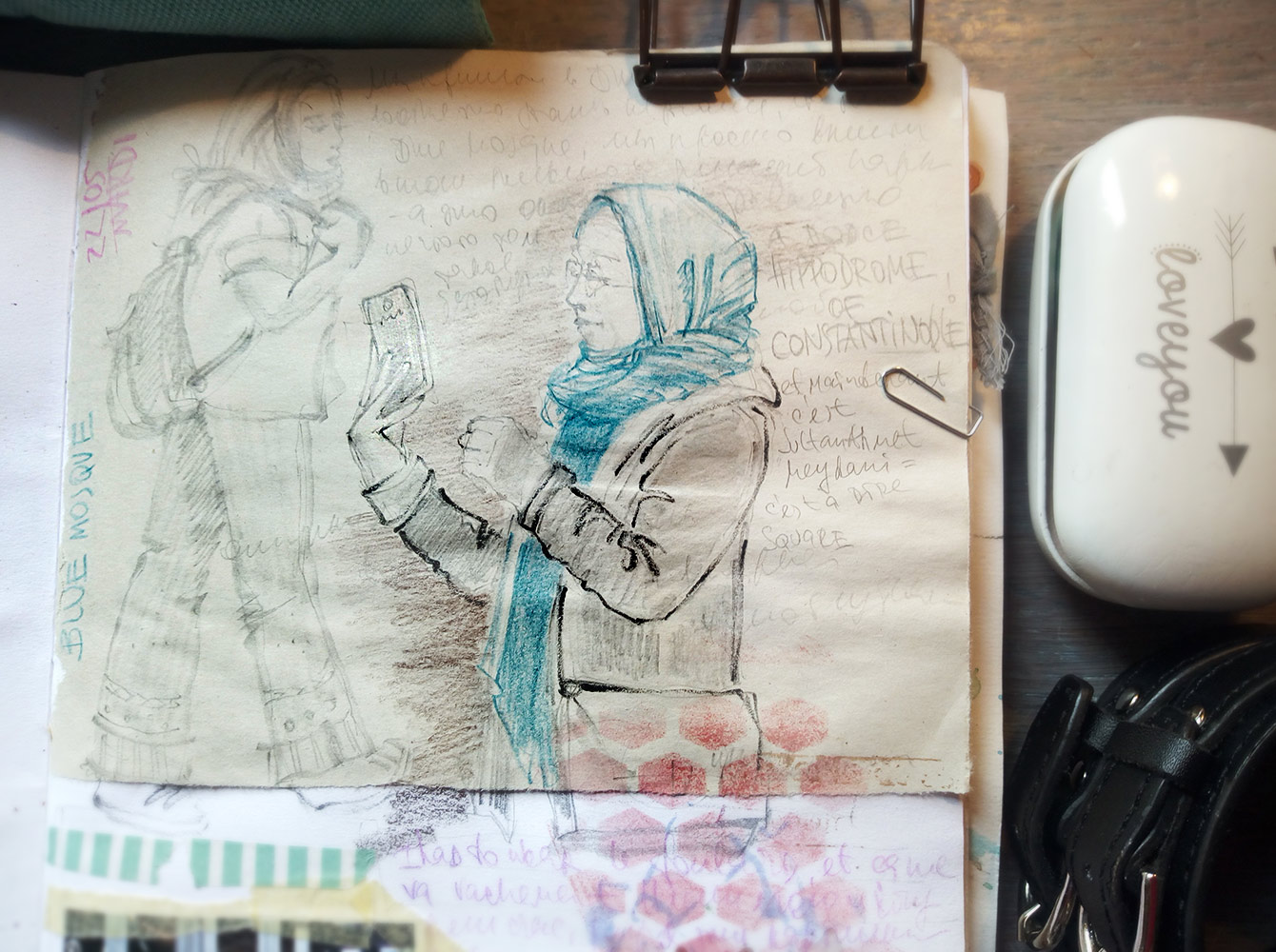 Istanbul sketch sketchbook watercolor travel blog стамбул наброски рисунки  fast-drawing