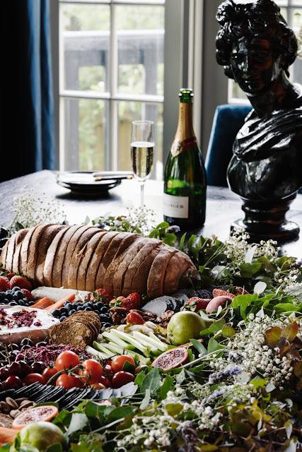 wedding catering grazing tables breakfast hampers weddings food