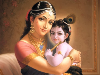 Mahabharat-Krishna-And-Yashoda-Cute-wallpaper