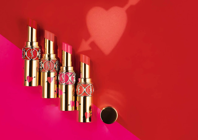 YSL Beauty Beauté red lipstick makeup maquillaje San valentín belleza regalos beauty