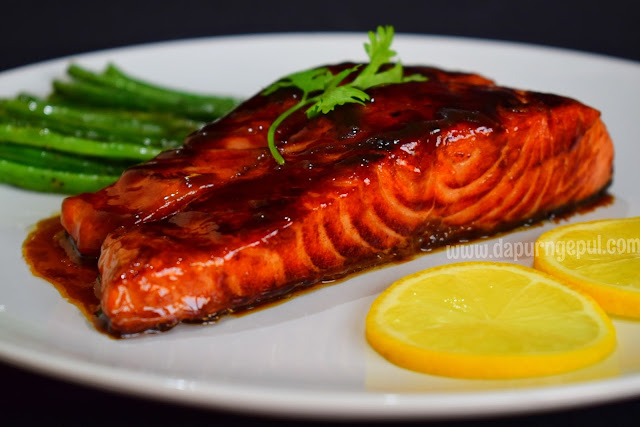 Salmon fish, resep masakan Indonesia by Amalia Virshania