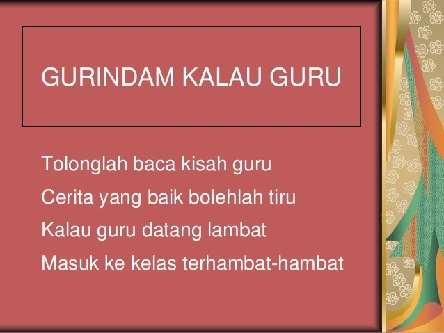 Gurindam Bahasa Kebangsaan Gurindam