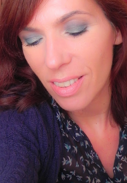 maquillaje fácil primavera azul