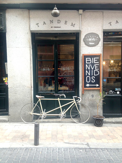 Tandem by Triciclo, Madrid