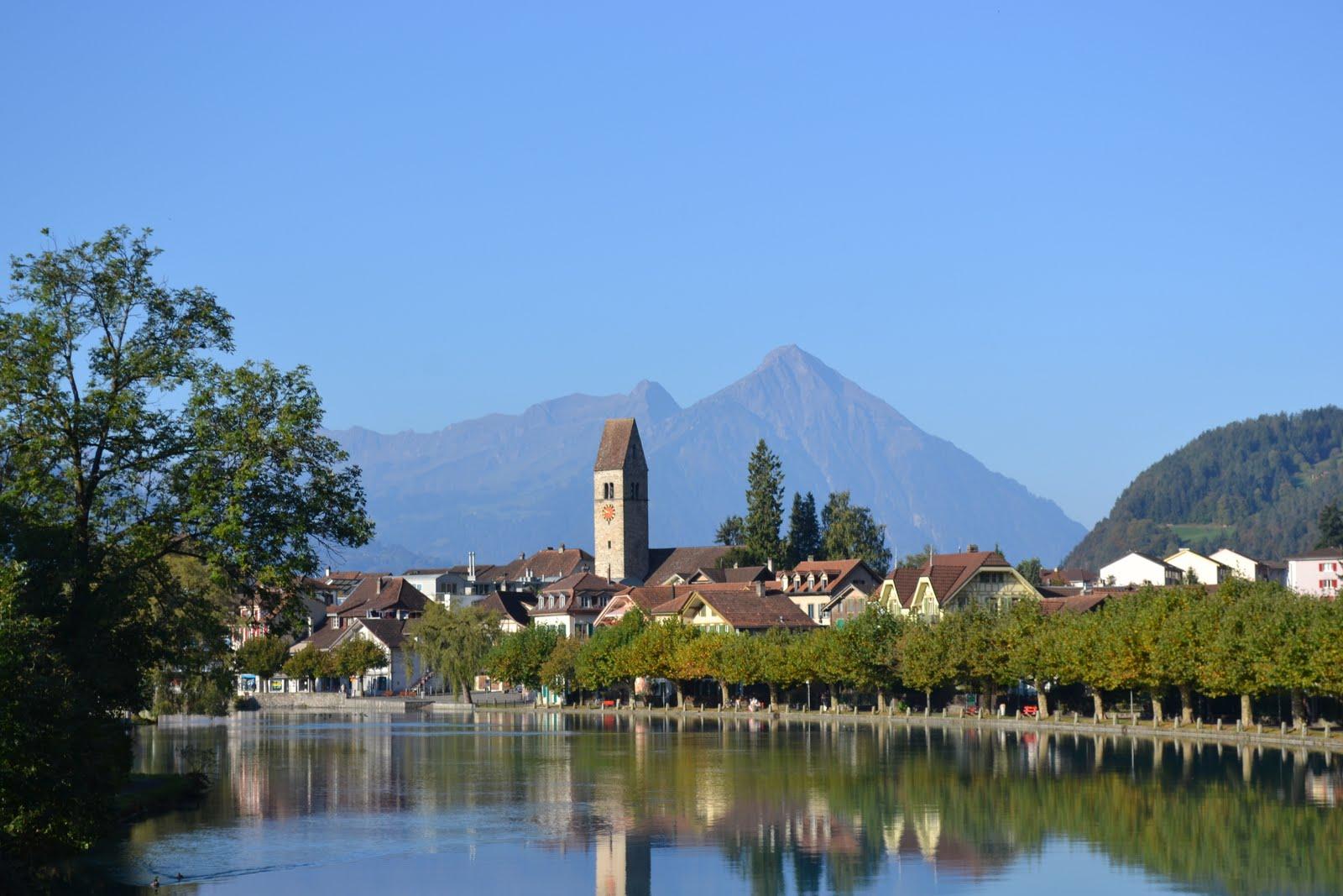 trummelbach falls switzerland
