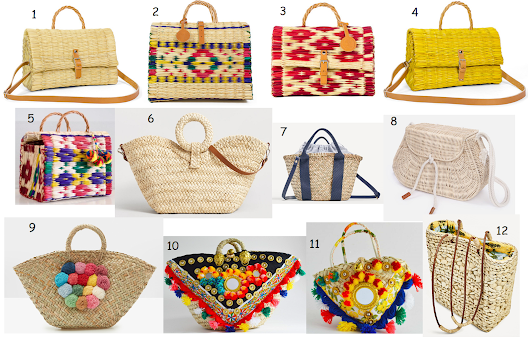 Trend alert: Straw bags