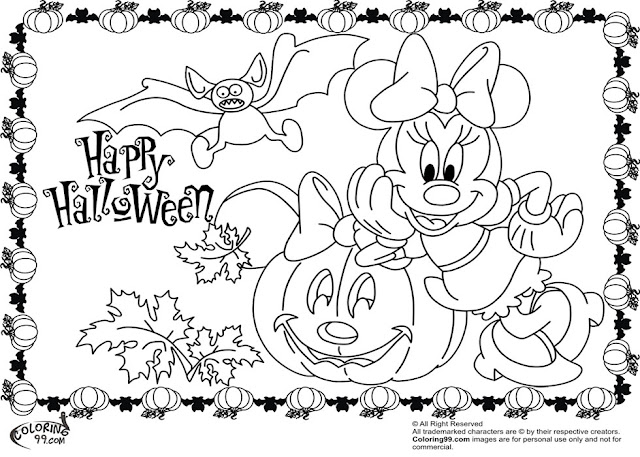 Download printable Mickey Mouse coloring worksheets for kindergarten