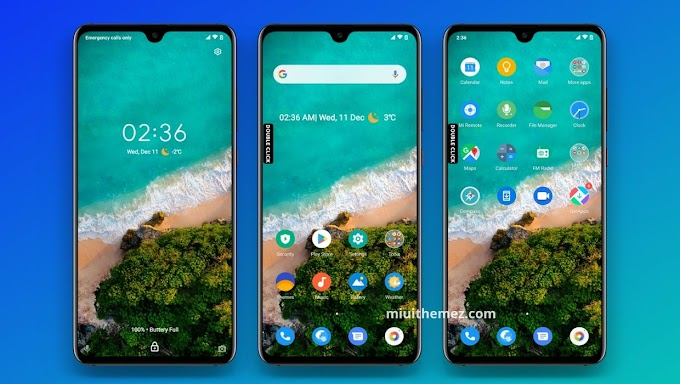 Mi A3 Theme | Get Mi A3 Look with Pixel Experience Dual MIUI Theme
