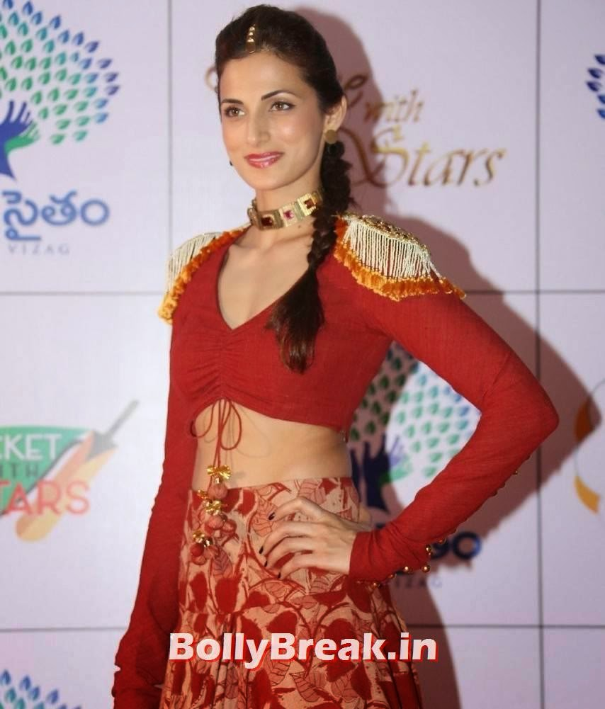 Shilpa Reddy images, Shilpa Reddy Navel Pics in Red Hot Dress