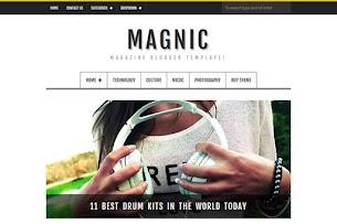Magnic - Magazine Responsive Blogger Template