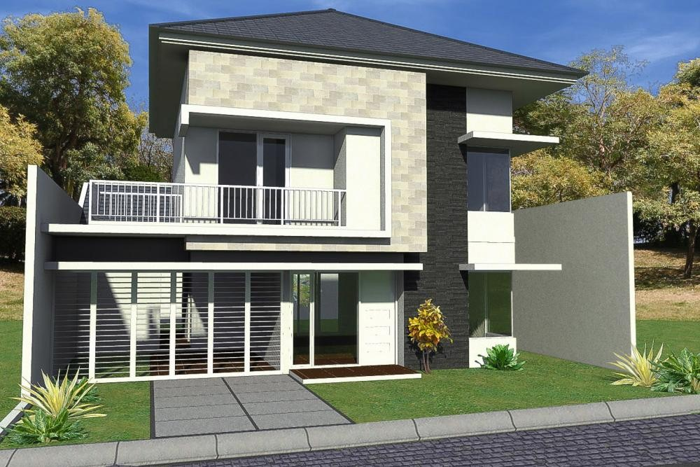 model rumah sederhana tapi kelihatan mewah 3