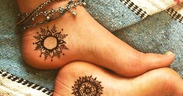 15 Simple Henna Tattoo Mehndi Designs Bling Sparkle