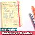 Caderno de Doodles   Desenhos