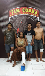 Lima Pencuri Sapi Terpaksa Ditembak