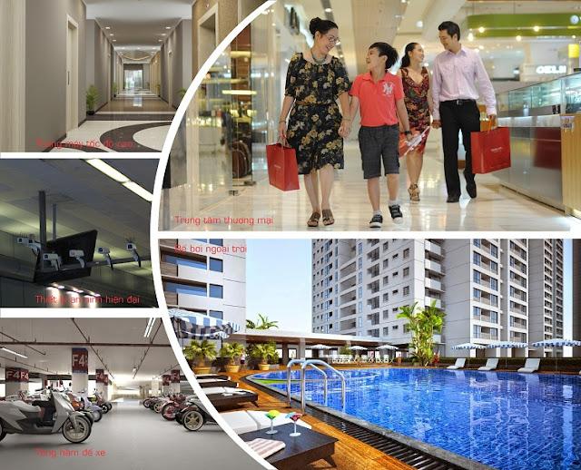Tiện ích hiện đại Aqua Park Bắc Giang