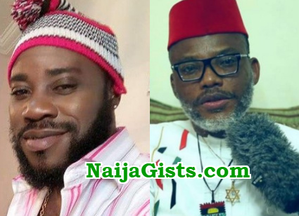 nnamdi kanu working politicians to destabilise Nigeria