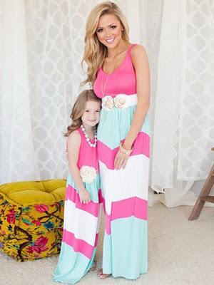 baju couple ibu dan anak perempuan