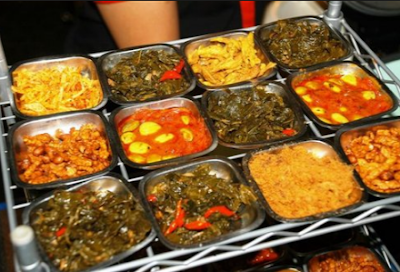 Nasi Kalong - Bandung Indonesia
