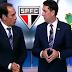 Barraco ao vivo: Edmundo e PVC brigam durante programa de TV