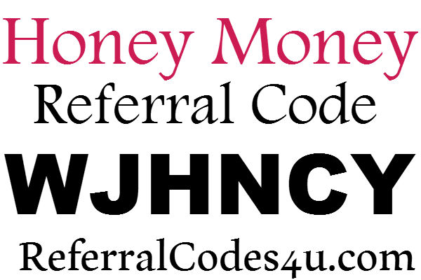 Honey Money App Referral Code, Honey Money Sign Up Bonus, Honey Money Refer A Friend 2021
