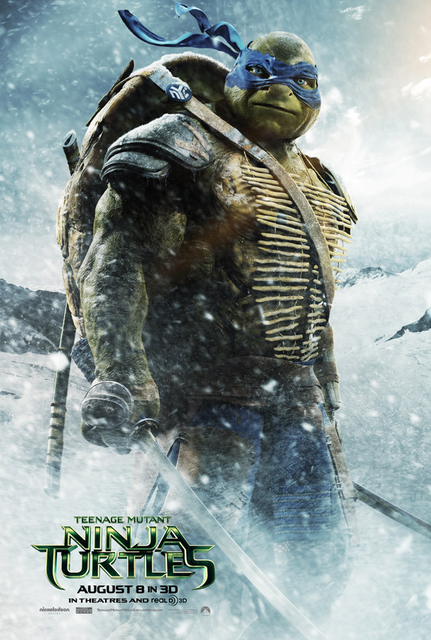 TEENAGE MUTANT NINJA TURTLES 2014 - Leonardo