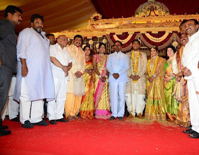 Danam Nagender Daughter Manisha Marriage1