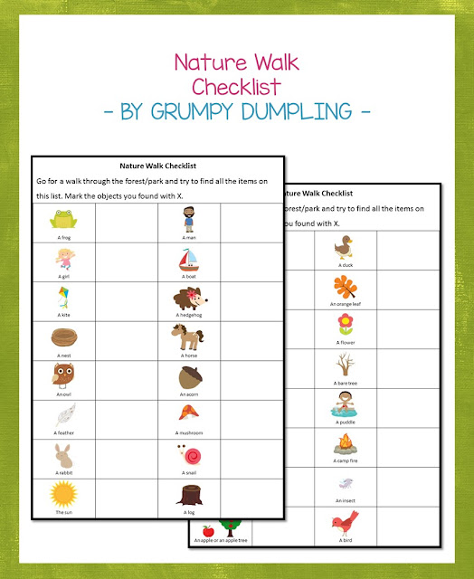 https://www.teacherspayteachers.com/Product/FREEBIE-Nature-Walk-Checklist-2789639