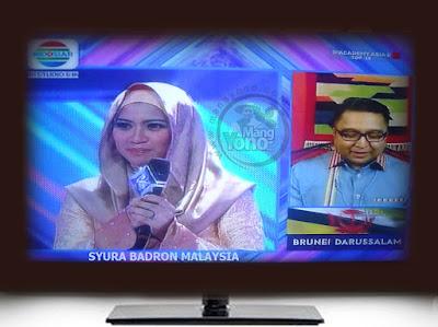 Syura Badron Malaysia harus tersenggol D'Academy Asia 2 ( DAA 2) Grup D Babak 18 Besar