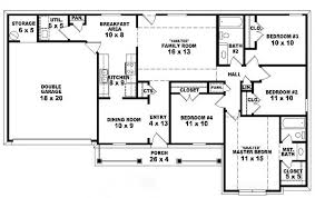 6 Bedrooms,2 Stories and 5 Toilets - 3D HOUSE PLANS on