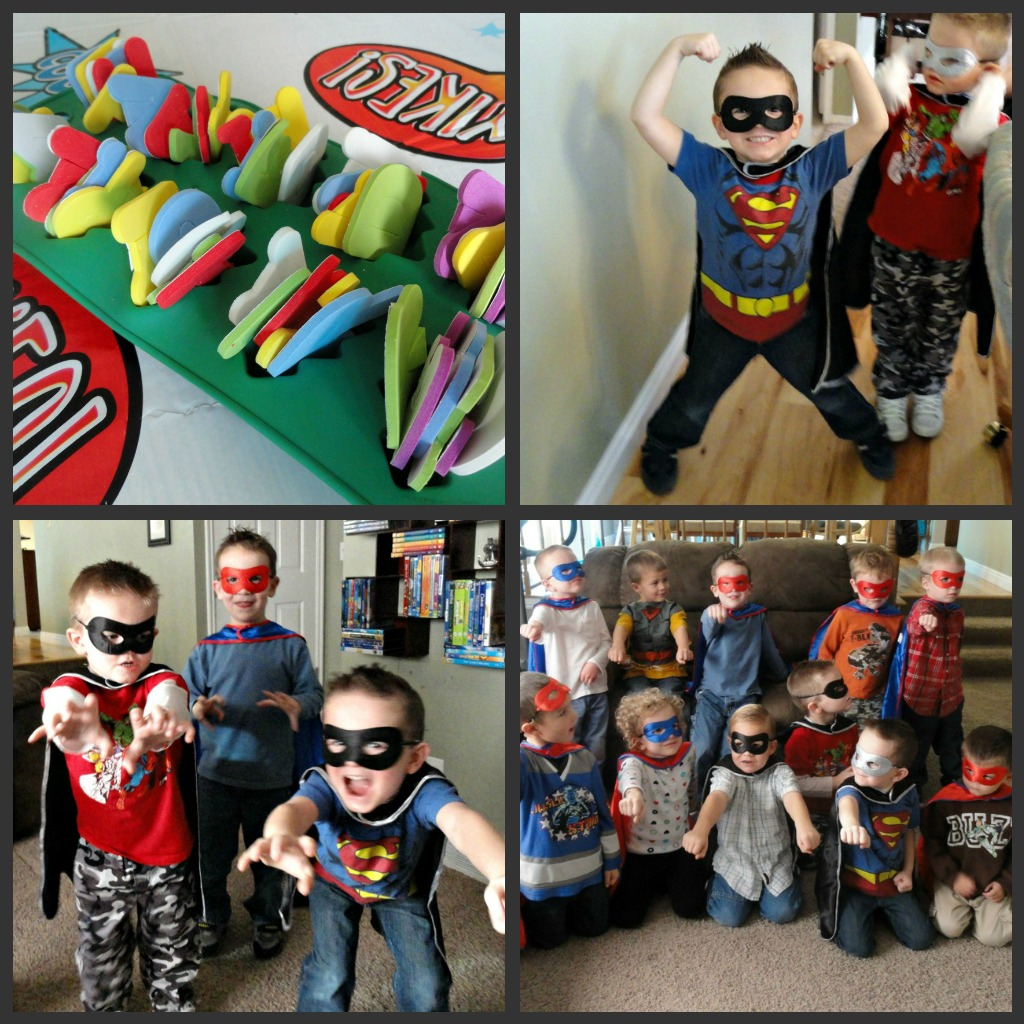 Superhero Squad Party Activities  A Little Tipsy