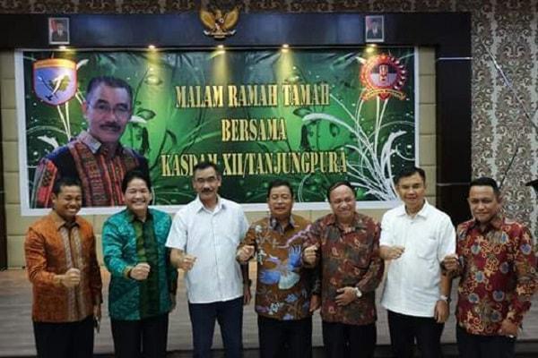 Bupati Sampaikan Selamat Datang Di Kalbar Kepada Brigjen TNI Sulaiman Agusto