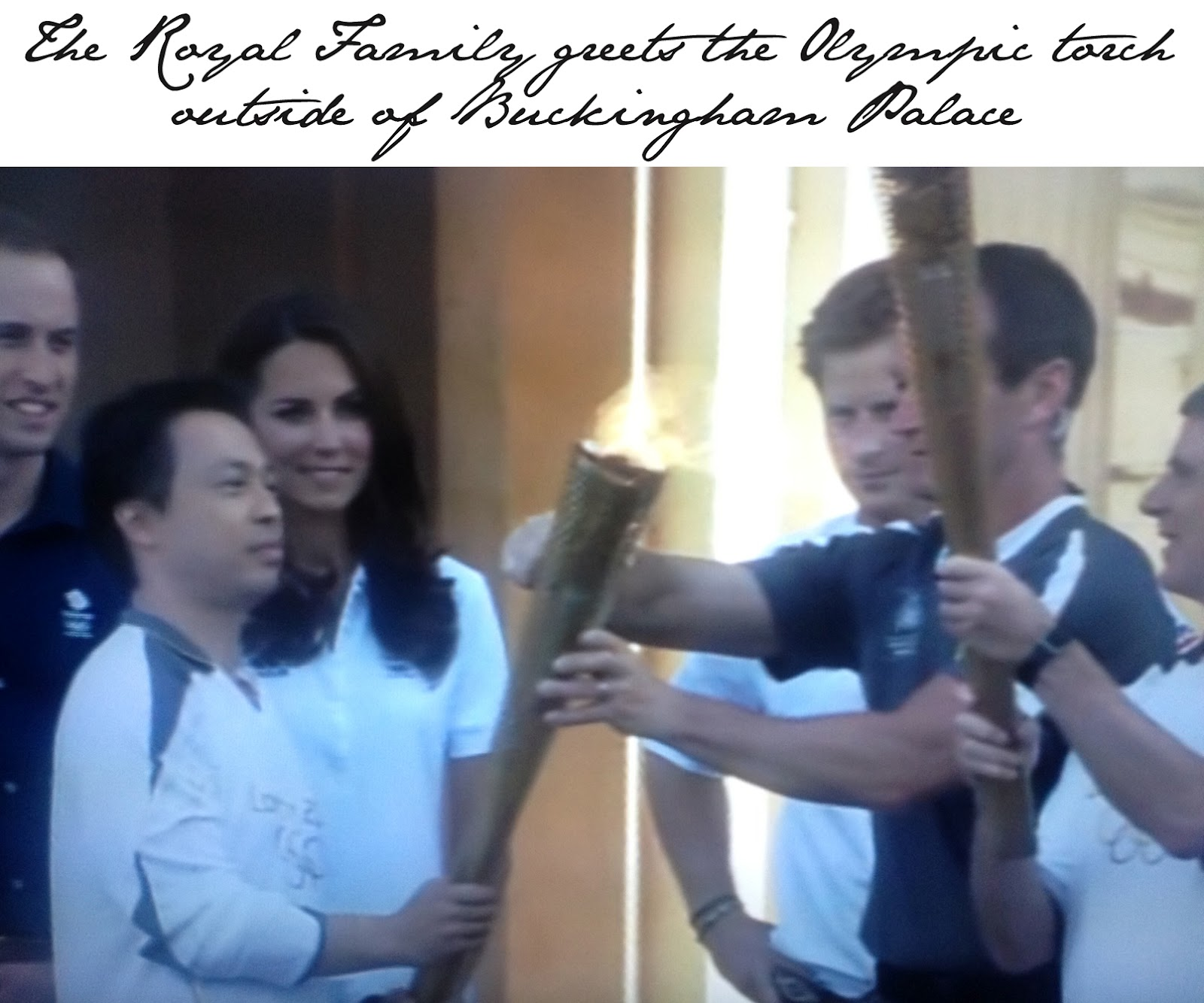 Kate Middleton Olympic Torch