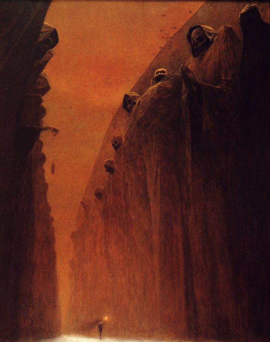 Surrealism and visionary art zdzislaw beksinski for Facebook cuarto milenio
