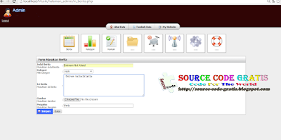 Download Source Code Gratis PHP Web Musik dengan Bootstrap