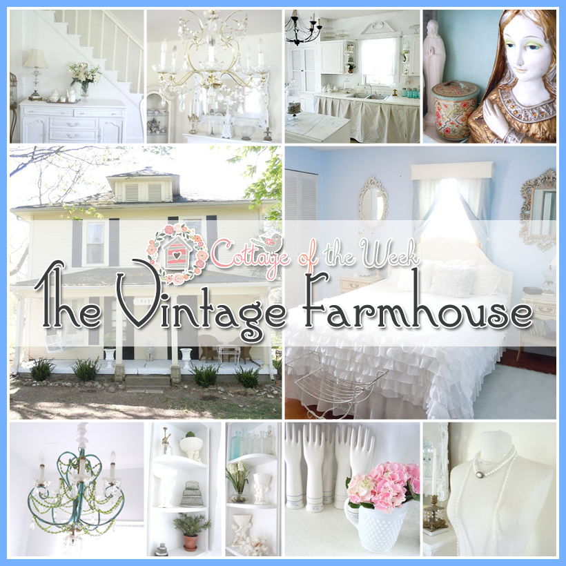 Farmhouse Vintage Cottage Decor