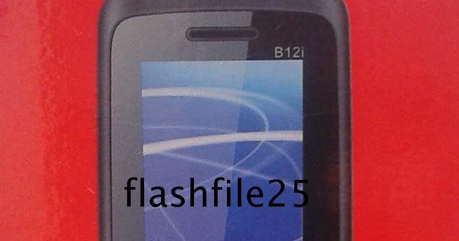 FlashFile25: Symphony B12i Flash File Spd 6531E