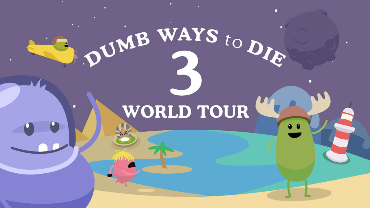 Dumb Ways İle Ölmek 3 Dünya Turu - Dumb Ways To Die 3 World Tour