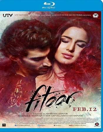 Poster Of Fitoor 2016 Hindi 140MB BRRip HEVC Mobile ESubs Watch Online Free Download Worldfree4u