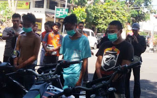 Tiga Pelaku Curat Ditangkap Polisi, Satu Dilumpuhkan