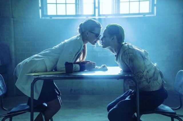 La policía le disparó a Joker y Harley Quinn en una orgía