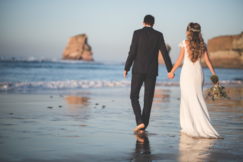 reportaje post boda playa